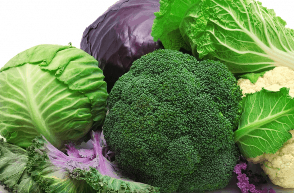 Several vegetables that contain the nutrient alpha lipoic acid