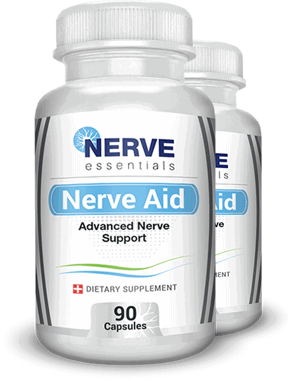 Nerve Aid neuropathy supplement 90 capsules bottle