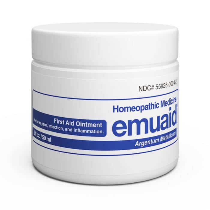 Emuaid homeopathic medicine pain relief cream
