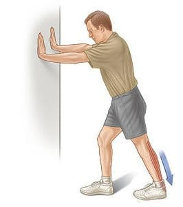 Calf Stretching exercise for peripheral neuropathy