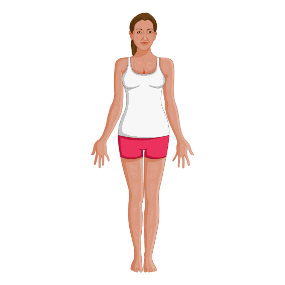 Tadasana Mountain pose