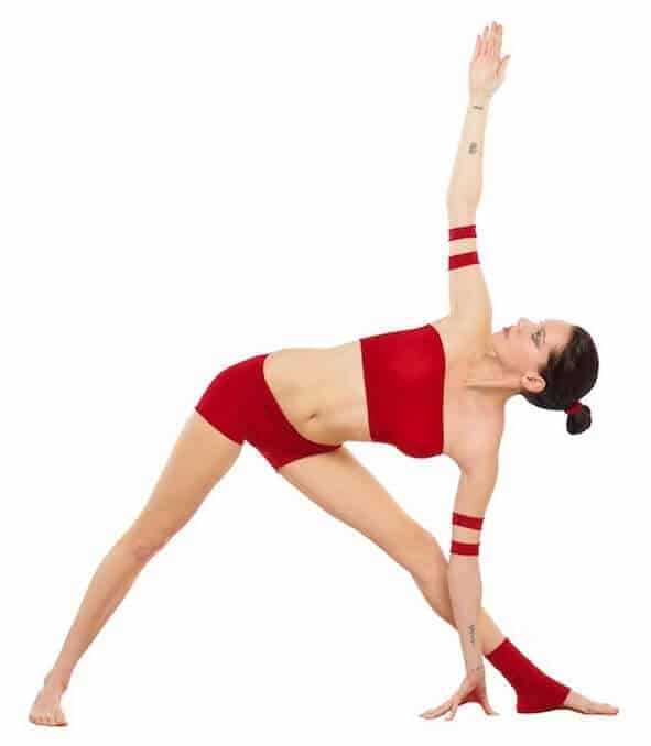 Trikonasana Triangle pose yoga for neuropathy
